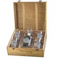 Aspen Leaf Decanter Boxed Set  Heritage Pewter   HPIDOF4051