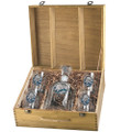 Brown Bear Decanter Boxed Set | Heritage Pewter | HPICPTB118EB