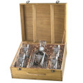 Longhorn Cattle Decanter Boxed Set | Heritage Pewter | HPICPTB3270