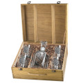 Mallard Duck Decanter Boxed Set   Heritage Pewter   HPICPTB122