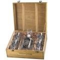 Oak Leaf Decanter Boxed Set | Heritage Pewter | HPICPTB4136