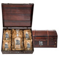 Tiger Capitol Decanter Chest Set | Heritage Pewter | HPICPTC3986