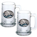 Brown Bear Beer Stein Set of 2 | Heritage Pewter | HPIST118EB