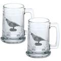 Quail Beer Stein Set of 2 | Heritage Pewter | HPIST3140