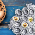 Bunny Rabbit Deviled Egg Tray | Arthur Court Designs | 121R01