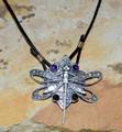 Dragonfly Filigree Pendant Necklace   Elaine Coyne Jewelry   ASV79PD -2