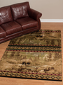 "Bear Area Rug ""Scenic Bear"" 