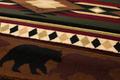 "Bear Area Rug ""Native Bear"" | United Weavers | 512-25859"
