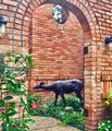 Deer Buck and Doe Life Size Bronze Outdoor Statue | Metropolitan Galleries | MGISRBSRB15055-56 -3