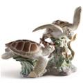 Sea Turtles Porcelain Figurine | Lladro | 1006953