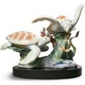 Sea Turtles Porcelain Figurine | Lladro | 1006953-2