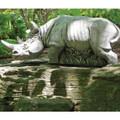 Rhino Outdoor Garden Statue   Hornsby   Henri Studio