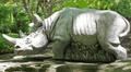 Rhino Outdoor Garden Statue   Hornsby   Henri Studio -2