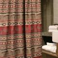 Deer and Bear Adirondack Shower Curtain | Carstens | JB1104
