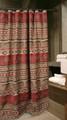 Deer and Bear Adirondack Shower Curtain | Carstens  | JB1104 -2