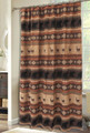 Deer and Bear Autumn Trails Shower Curtain | Carstens  | JB4146 -2
