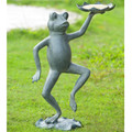 Dancing Frog With Lily Pad Bird Feeder | 34552 -3