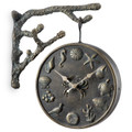 """Garden Clock and Thermometer """"Undersea Life""""   34559 -4"""
