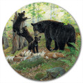 "Bear and Cubs Lazy Susan ""Playtime"" 