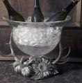Antler Harvest Glass Ice Tub | Vagabond House | H419HV-3