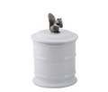 Squirrel Stoneware Canister Set of 2 | Vagabond House | S273S-S263S-1