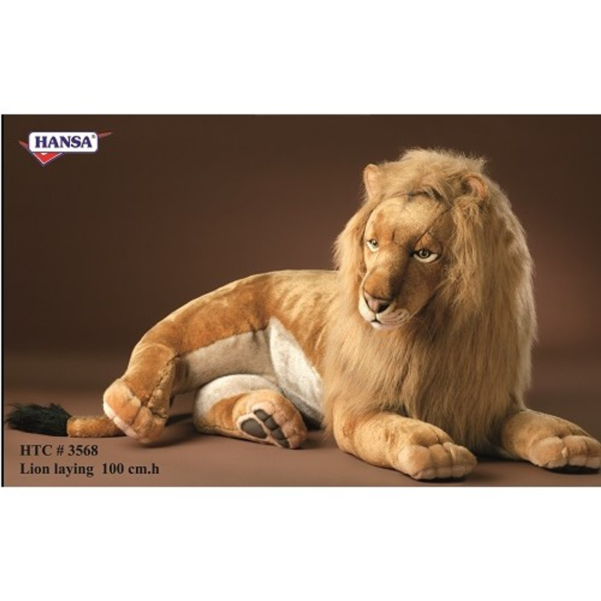 Lion Extra Large Stuffed Animal Male Lion Plush Hansa Toys