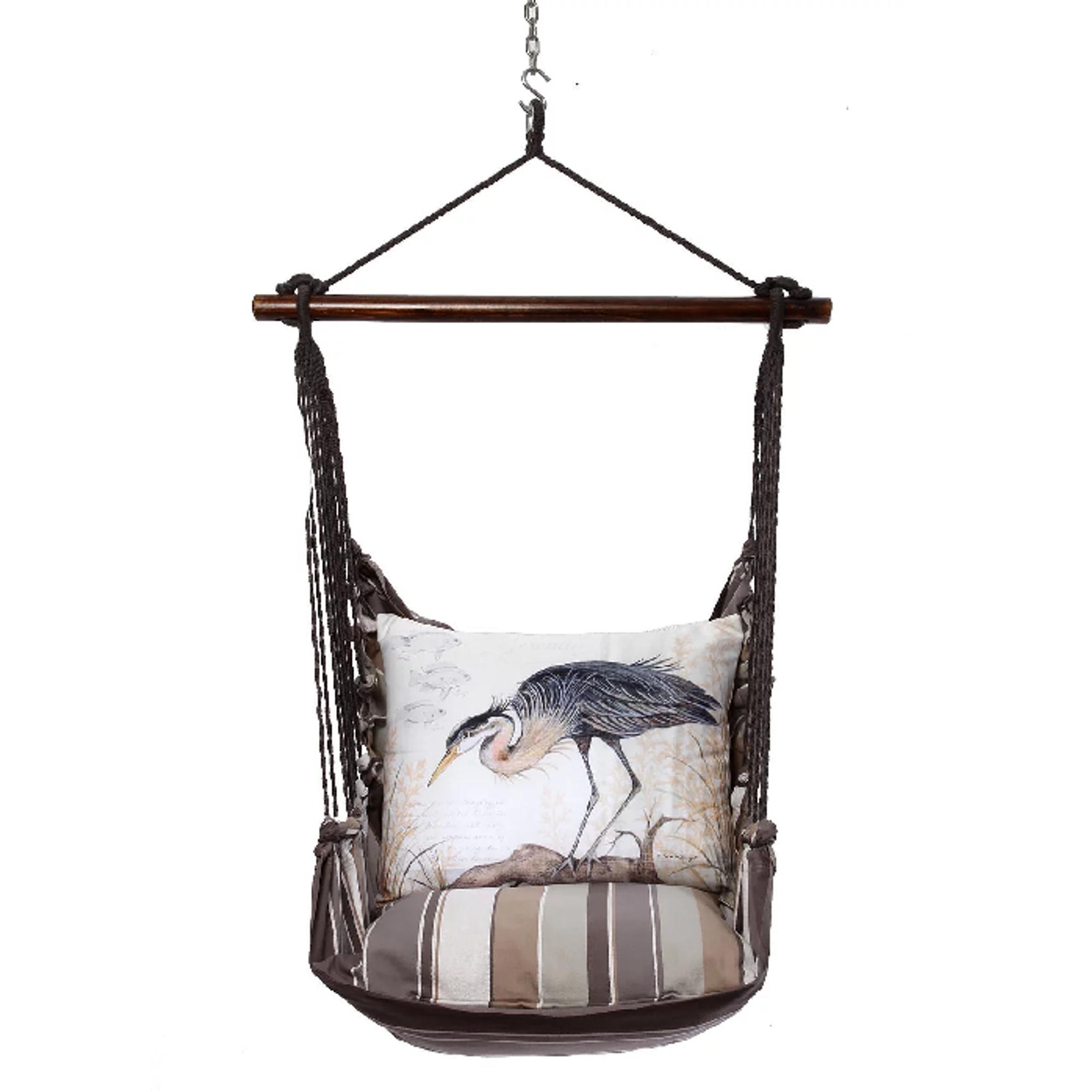 Crane Hammock Chair Swing Slate Gray