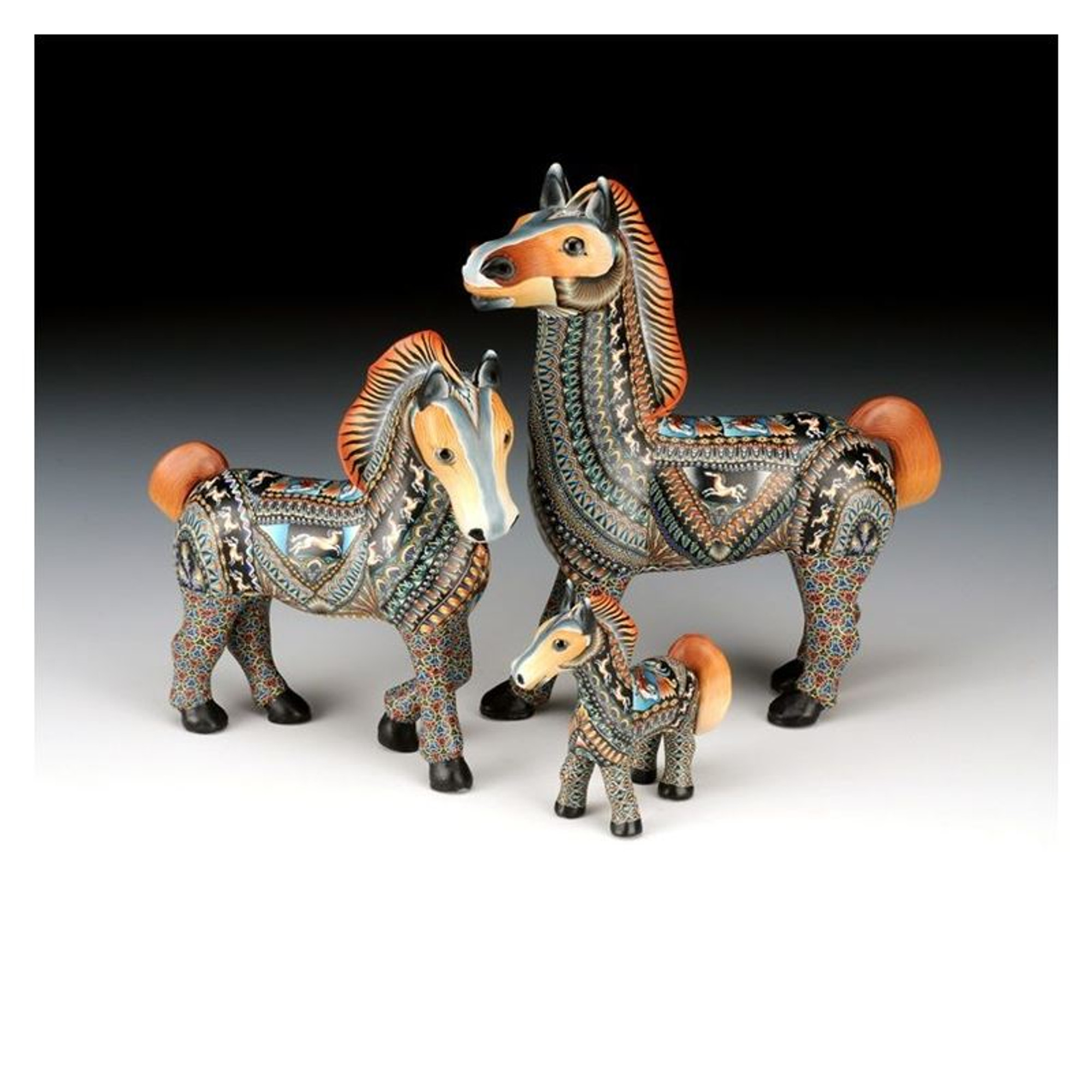 Horse Baby Figurine