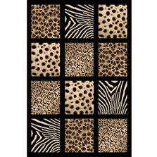 Safari Sculpture Area Rug | Persian Weavers | S-251