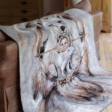 Spirit Bear Throw Blanket   Denali   16119172 -2