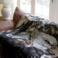 Eagle Owl Sky Kings Throw Blanket | Denali | 16119372 -2