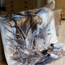 Moose Micro Plush Throw Blanket | Denali | 16192272 -2