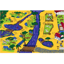 Zoo Paradise Area Rug | Persian Weavers | ZOO