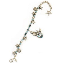 Mermaid Single Strand Bracelet   La Contessa Jewelry   Mary DeMarco   BR9503LM