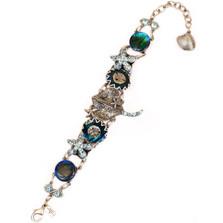 Stingray and Starfish Bracelet   Nature Jewelry   BR9507BL