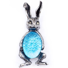 Bunny Stud Pin | Nature Jewelry | PN9540LM