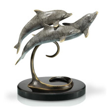 Dolphin Triple Sculpture | 80227 | SPI Home