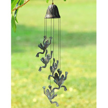 Frog Jumping Wind Chime | 50838 SPI Home