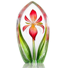 Lily Ltd Ed Crystal Sculpture | 34250 | Mats Jonasson Maleras