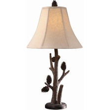 Pine Cone Table Lamp | Crestview Collection | CVAQP966