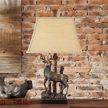 Deer Standing Table Lamp | Crestview Collection | CVAVP339