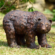 Bear Looking Garden Sculpture | 50751 | SPI Home