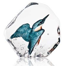 Kingfisher Crystal Sculpture | 34177 | Mats Jonasson Maleras