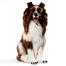 Collie Ceramic Sculpture | Intrada Italy | ANI2306