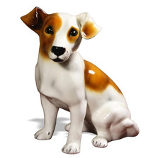 Jack Russell Ceramic Dog Sculpture | Intrada Italy | ANI1265M