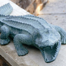 Mean Old Alligator Garden Sculpture | 30211 | SPI Home -2