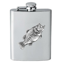 Bass Fish Flask | Heritage Pewter | HPIFSK4033