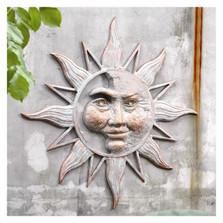 Sun & Moon Face Wall Plaque | 33163 | SPI Home