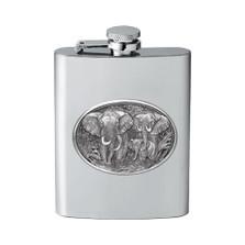 Elephant Flask | Heritage Pewter | HPIFSK120