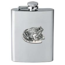 Frog Flask | Heritage Pewter | HPIFSK4114